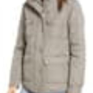 Thread & Supply Fleece Lined Utility Jacket